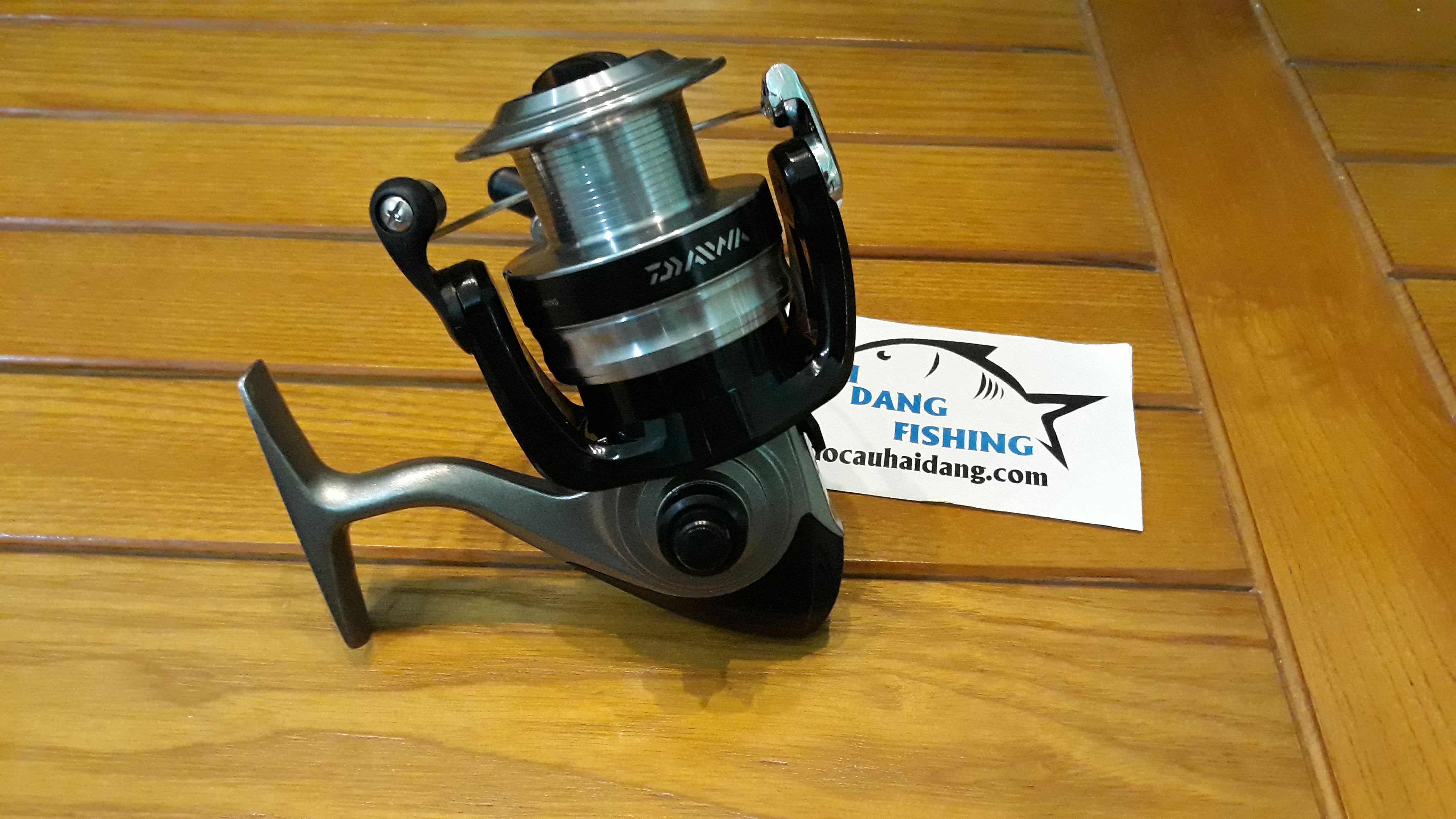 Máy câu cá Daiwa chính hãng tại thị trường Việt Nam